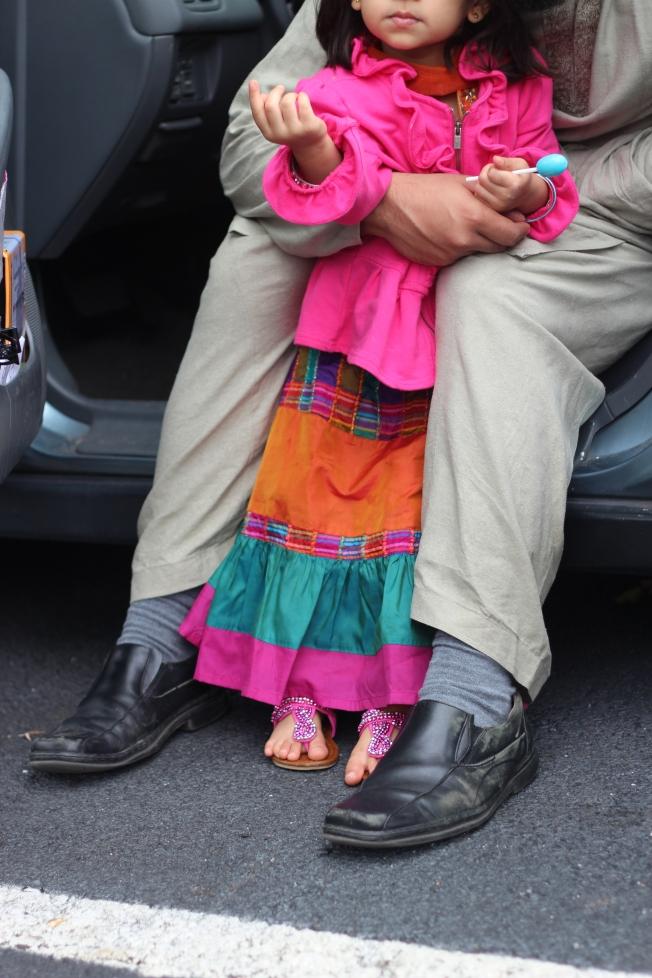 children at eid salah