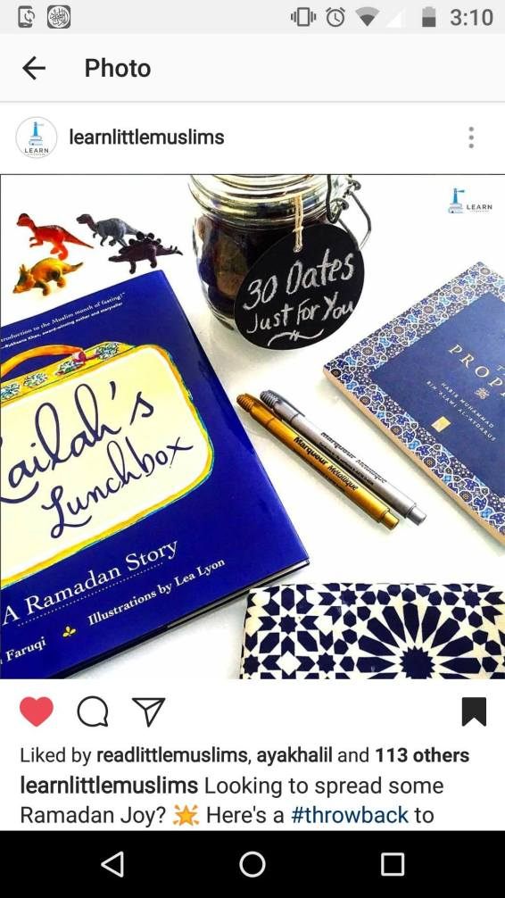 Love the gold and blue @learnlittlemuslims